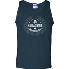 "H8MACHINE ""Fight The System"" Guys Tank Black"